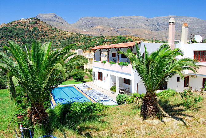 Holidays in Crete - Anthos Crete Apartments Photo Gallery